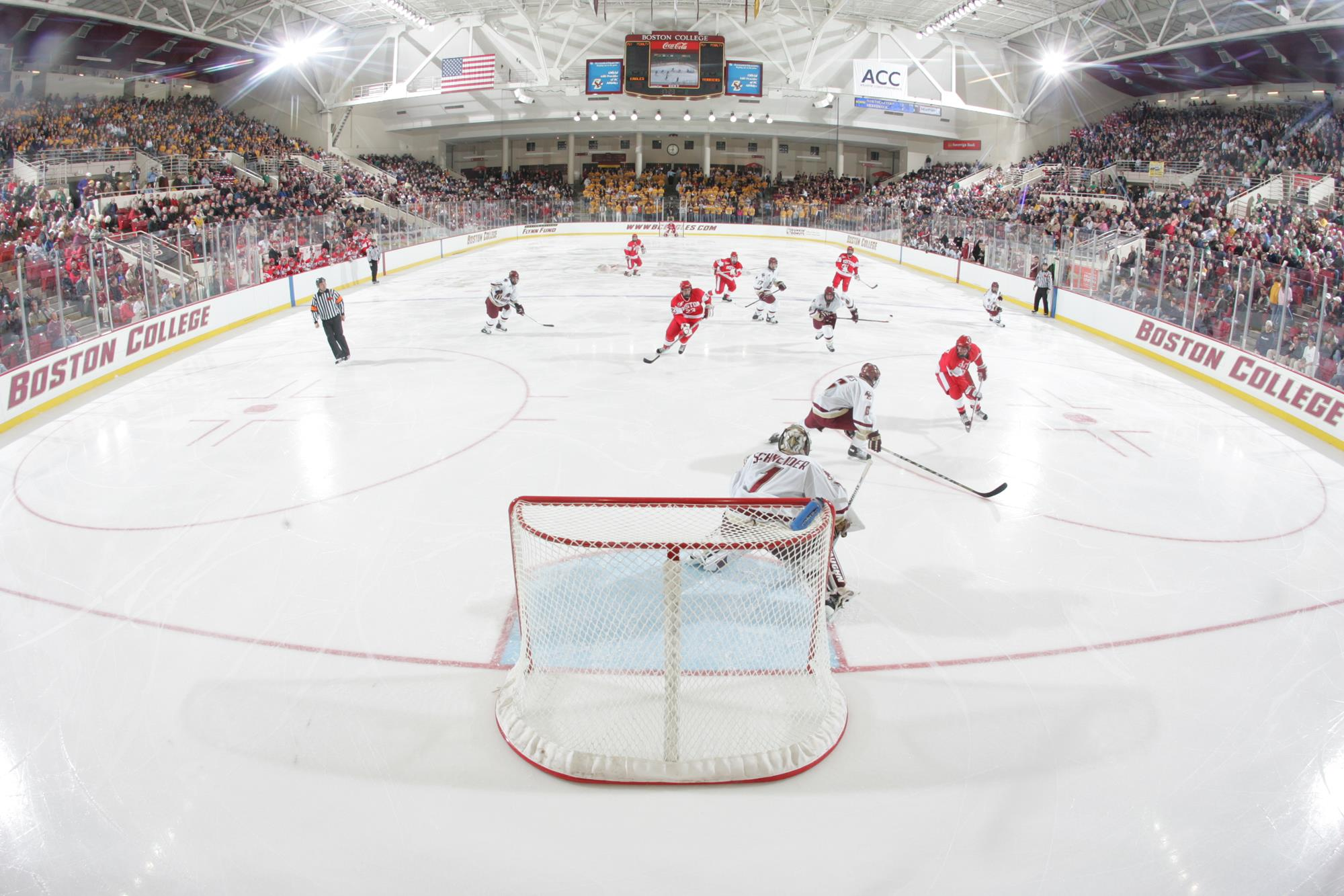 Image result for boston college hockey arena""