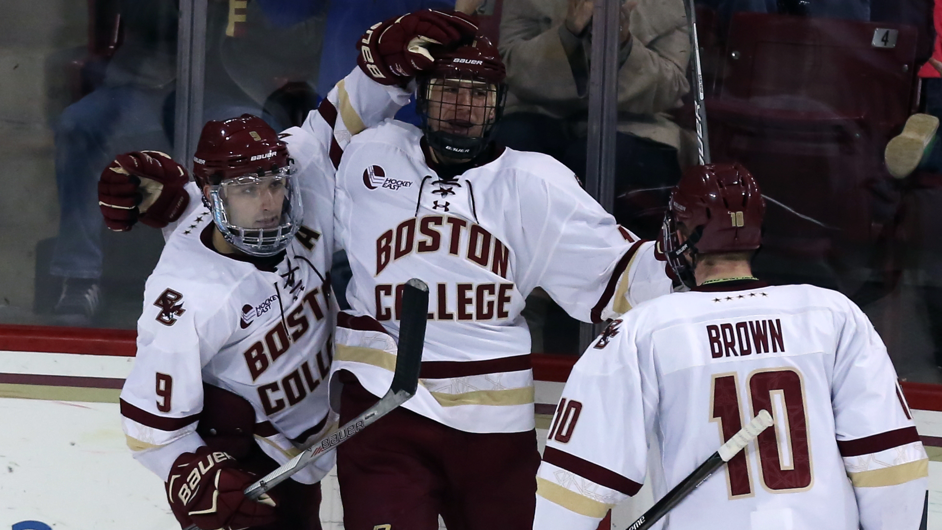 huge selection of 789f4 ebc40 Bracket Busters: BC Clips BU for Hockey East Title Shot ...