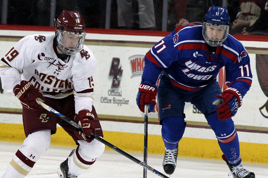 Hockey East Title on the Line at TD Garden - Boston College