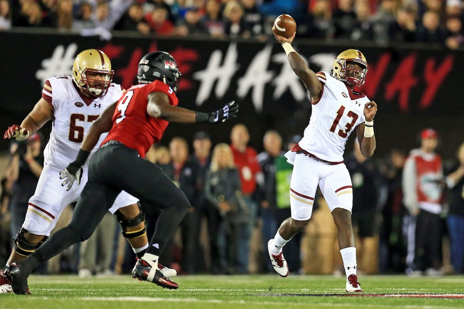 Week Two Notes The Wake Forest Game Boston College Athletics