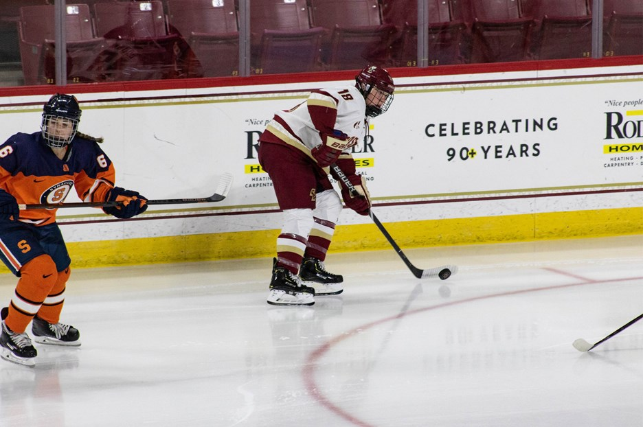 No. 6 BC Hosts No. 10 St. Lawrence For Pair - Boston College Athletics 26c33252aab