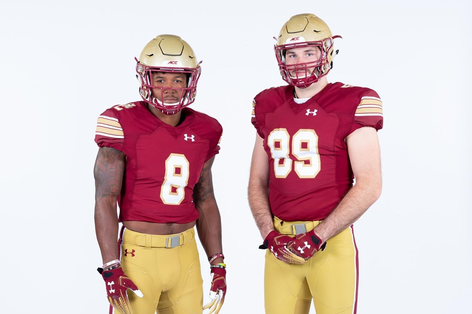 new product 88aa4 0adb6 BC to Wear 80s Throwback Uniforms Saturday - Boston College ...
