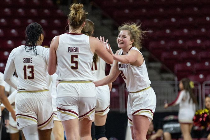 Taylor Ortlepp's 25-Point Effort Not Enough In Loss - Boston College Athletics