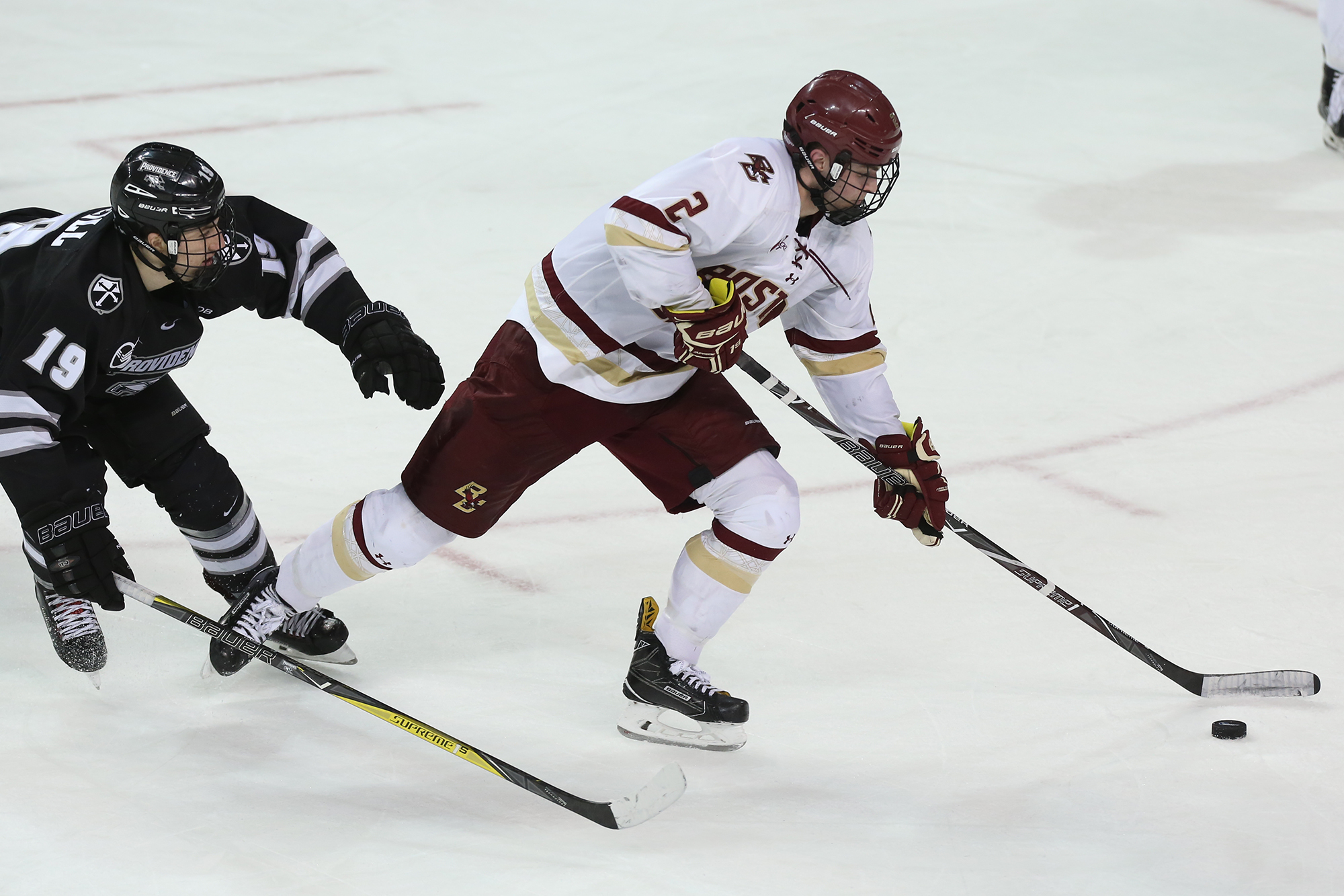 Eagles Resume Hockey East Play Against Friars And Wildcats