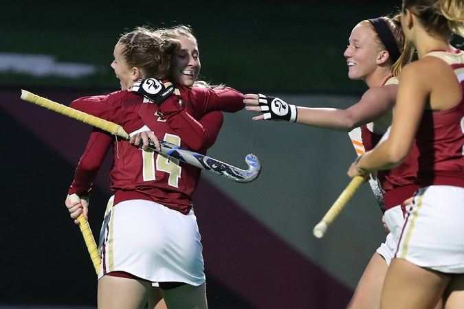 Dwyer Shuts Out No. 13 Harvard, Eagles Win, 1-0