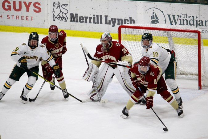 Knight Leads No. 16 Eagles to Series Sweep in Vermont