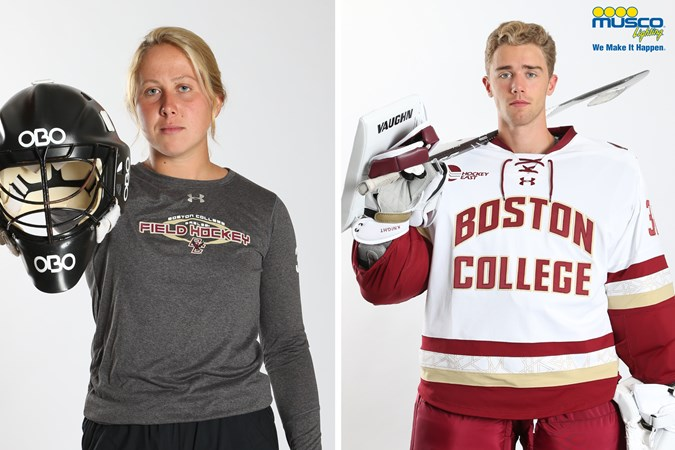 Dwyer, Knight Named Eagles of the Week