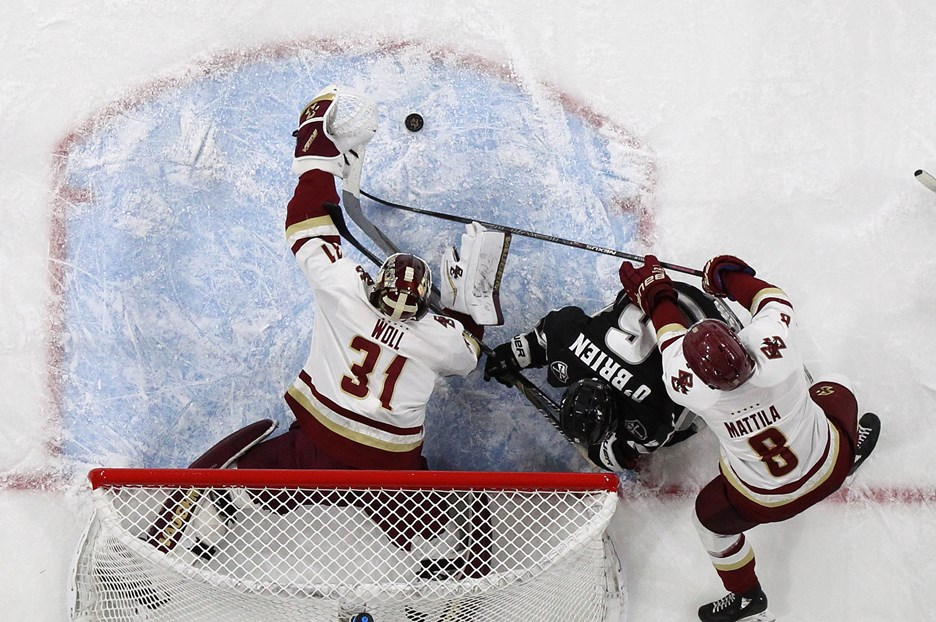 Eagles Return to No  7 Providence for Hockey East Quarterfinals