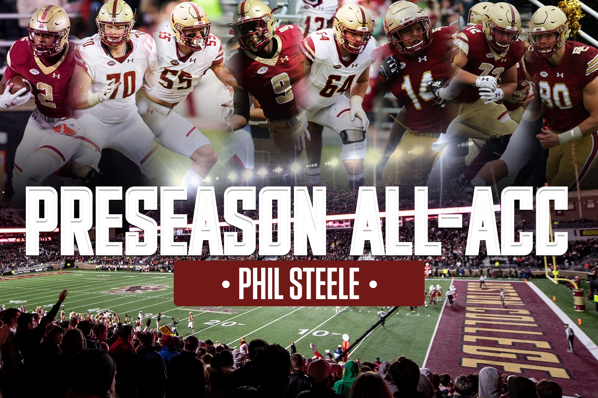 Eight Eagles Named to Phil Steele's All-ACC Teams - Boston
