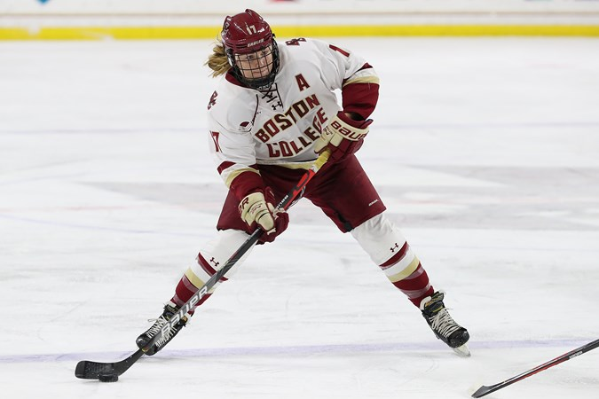 Belinskas Garners Hockey East Player of the Week Honors - Boston College Athletics